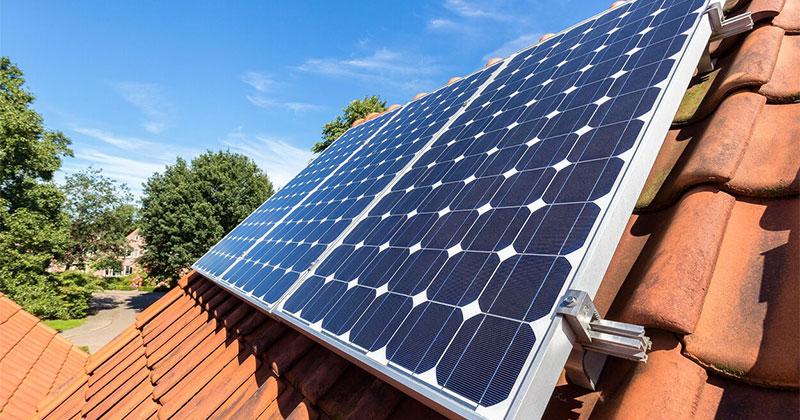 prime état panneaux solaires